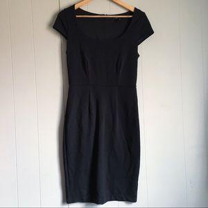 VICTORIAS SECRET Vintage Black Cocktail Dress LBD